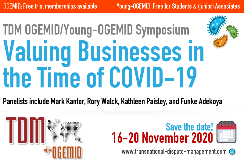 OGEMID/Young-OGEMID Symposium on the impact of COVID-19