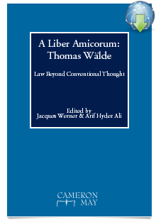 Cover A Liber Amicorum: Thomas Waelde - Law Beyond Conventional