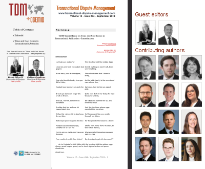TDM 4 (2018) - Time and Cost
