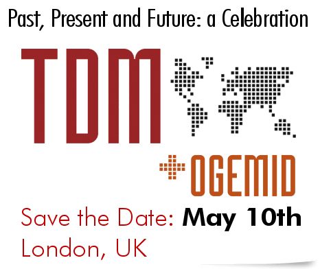 OGEMID and TDM Past, Present and Future: a Celebration