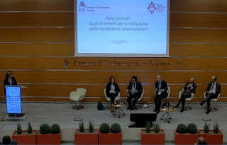 Session 2: Negotiation and Mediation of Cultural Property Disputes - moderated by Professor Tullio Scovazzi